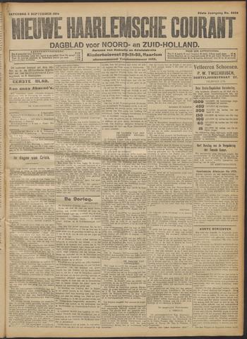 Nieuwe Haarlemsche Courant 1914-09-05