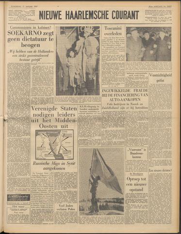 Nieuwe Haarlemsche Courant 1957-01-17