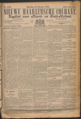 Nieuwe Haarlemsche Courant 1901-10-28