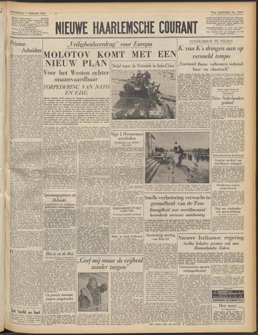 Nieuwe Haarlemsche Courant 1954-02-11
