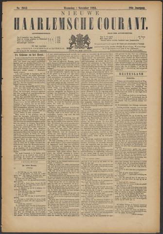 Nieuwe Haarlemsche Courant 1893-11-01