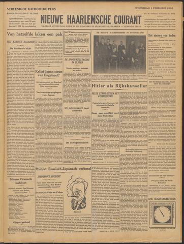 Nieuwe Haarlemsche Courant 1933-02-01