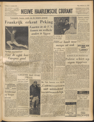 Nieuwe Haarlemsche Courant 1964-01-18