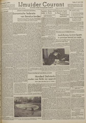 IJmuider Courant 1948-04-16