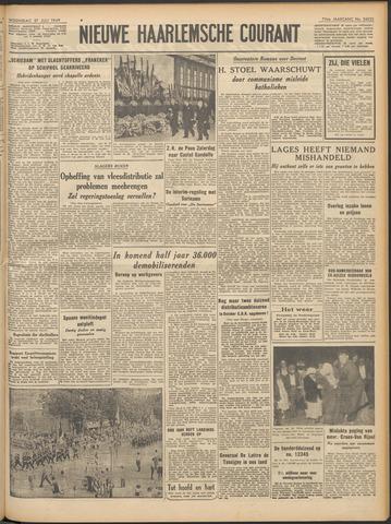 Nieuwe Haarlemsche Courant 1949-07-27