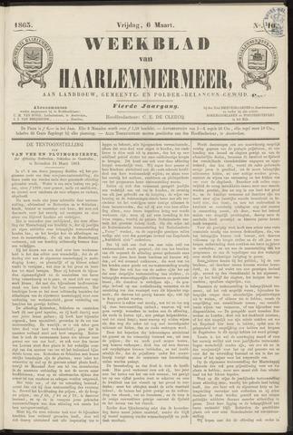 Weekblad van Haarlemmermeer 1863-03-06