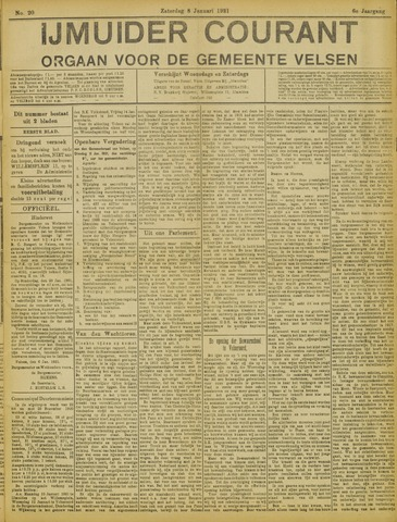 IJmuider Courant 1921-01-08