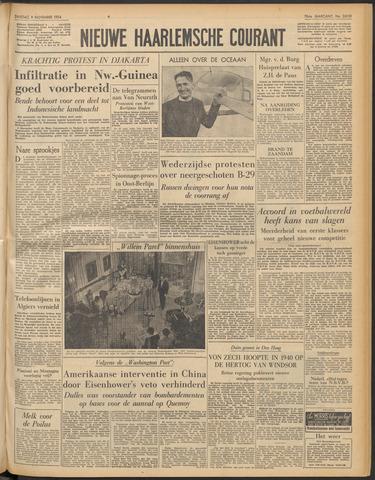 Nieuwe Haarlemsche Courant 1954-11-09
