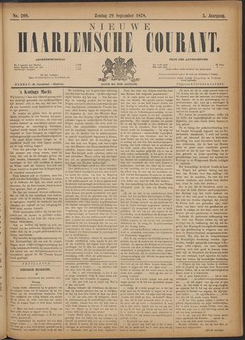 Nieuwe Haarlemsche Courant 1878-09-29