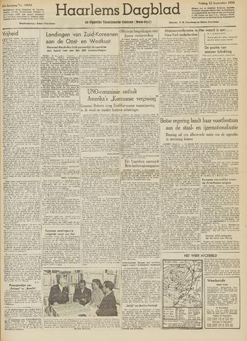 Haarlem's Dagblad 1950-09-15