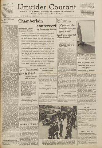 IJmuider Courant 1939-09-13