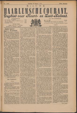 Nieuwe Haarlemsche Courant 1899-01-24