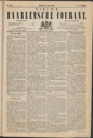 Nieuwe Haarlemsche Courant 1882-06-11