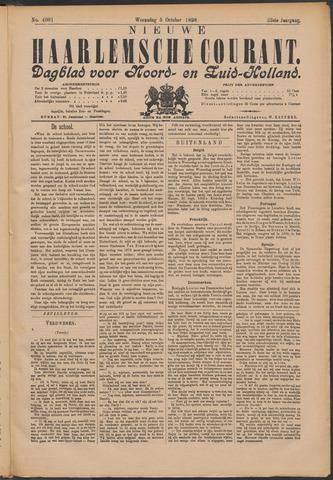 Nieuwe Haarlemsche Courant 1898-10-05