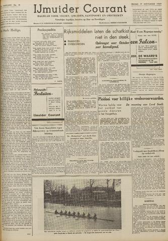 IJmuider Courant 1939-11-17