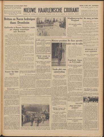 Nieuwe Haarlemsche Courant 1940-04-19