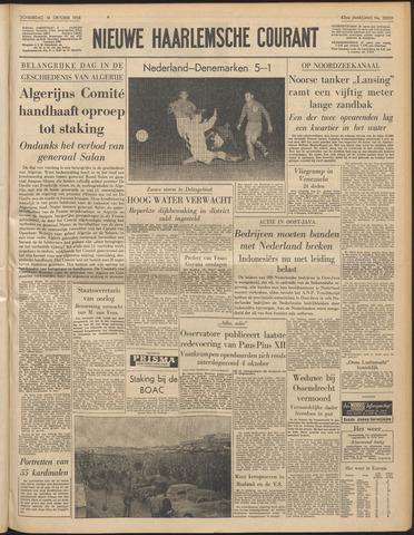 Nieuwe Haarlemsche Courant 1958-10-16