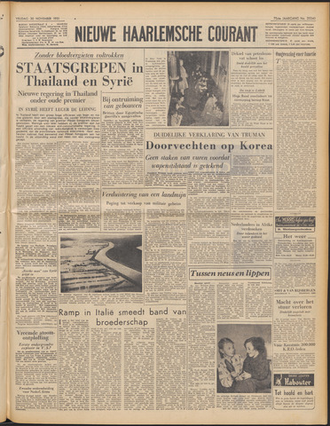 Nieuwe Haarlemsche Courant 1951-11-30