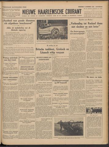 Nieuwe Haarlemsche Courant 1939-11-16