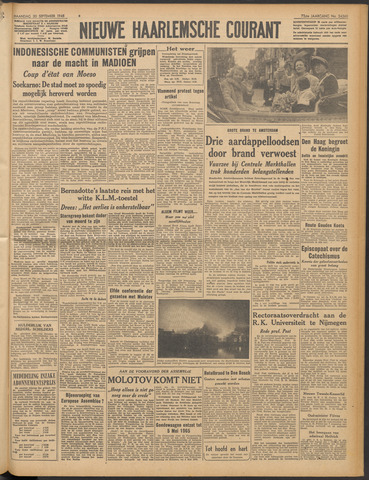 Nieuwe Haarlemsche Courant 1948-09-20