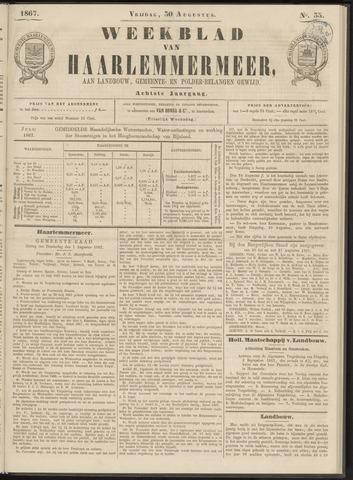 Weekblad van Haarlemmermeer 1867-08-30