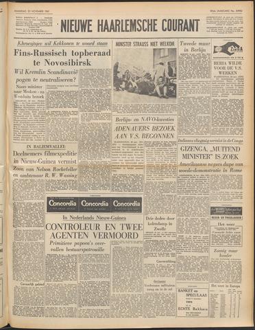 Nieuwe Haarlemsche Courant 1961-11-20