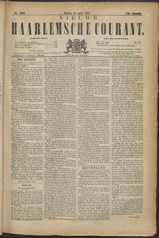 Nieuwe Haarlemsche Courant 1892-04-24
