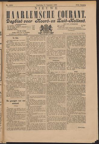 Nieuwe Haarlemsche Courant 1902-09-25