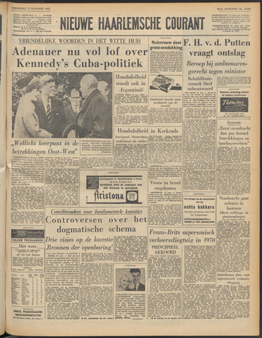 Nieuwe Haarlemsche Courant 1962-11-15
