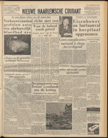 Nieuwe Haarlemsche Courant 1955-09-26
