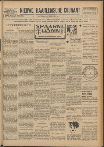 Nieuwe Haarlemsche Courant 1931-02-21