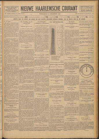 Nieuwe Haarlemsche Courant 1930-12-10