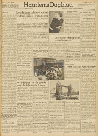 Haarlem's Dagblad 1947-04-30