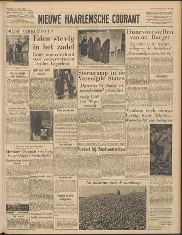 Nieuwe Haarlemsche Courant 1955-05-27