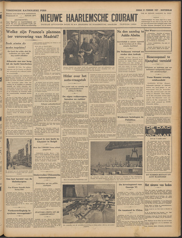 Nieuwe Haarlemsche Courant 1937-02-21