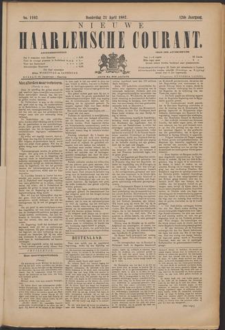 Nieuwe Haarlemsche Courant 1887-04-21
