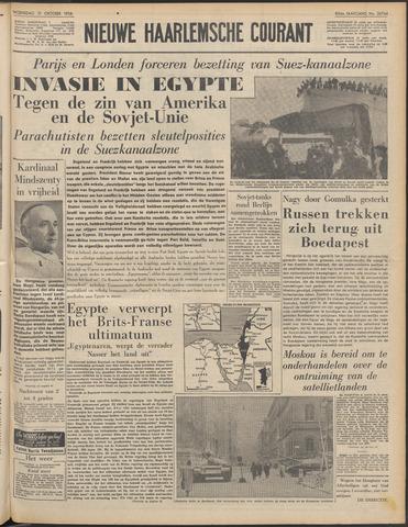 Nieuwe Haarlemsche Courant 1956-10-31