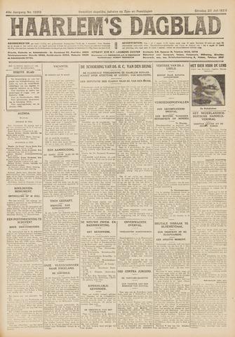 Haarlem's Dagblad 1926-07-20