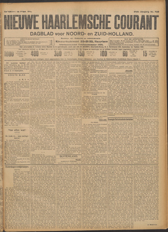 Nieuwe Haarlemsche Courant 1910-02-26