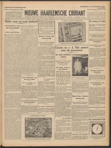 Nieuwe Haarlemsche Courant 1934-08-18