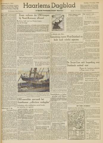 Haarlem's Dagblad 1950-11-04