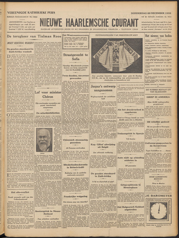 Nieuwe Haarlemsche Courant 1932-12-29
