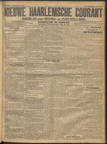 Nieuwe Haarlemsche Courant 1916-09-01