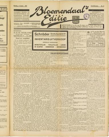 Bloemendaal's Editie 1929-01-19