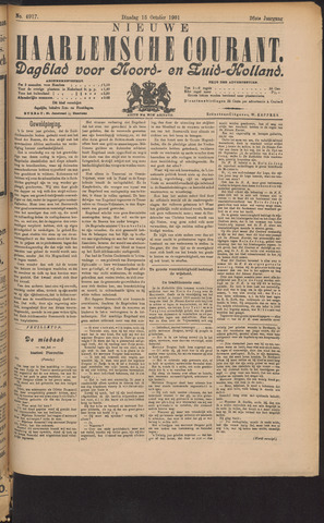 Nieuwe Haarlemsche Courant 1901-10-15