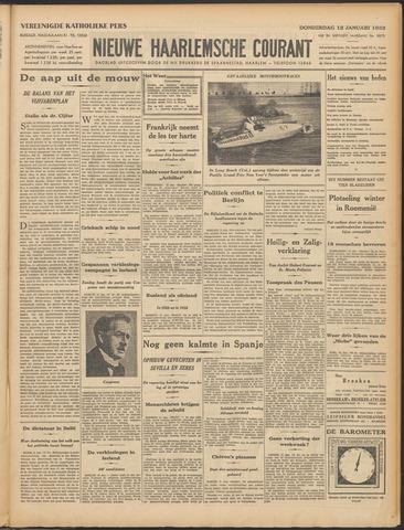 Nieuwe Haarlemsche Courant 1933-01-12