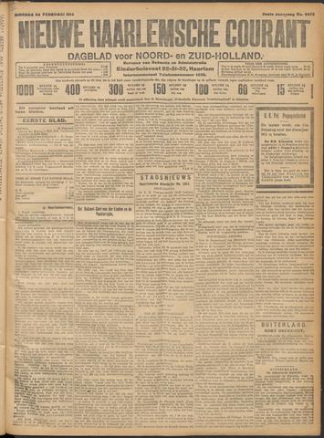 Nieuwe Haarlemsche Courant 1914-02-24