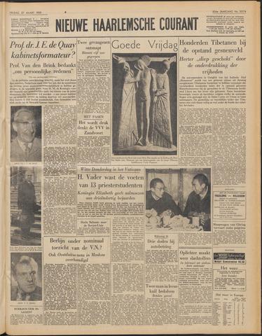Nieuwe Haarlemsche Courant 1959-03-27