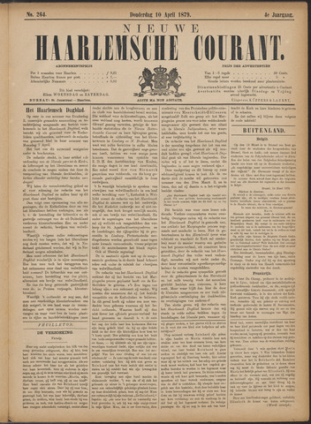 Nieuwe Haarlemsche Courant 1879-04-10