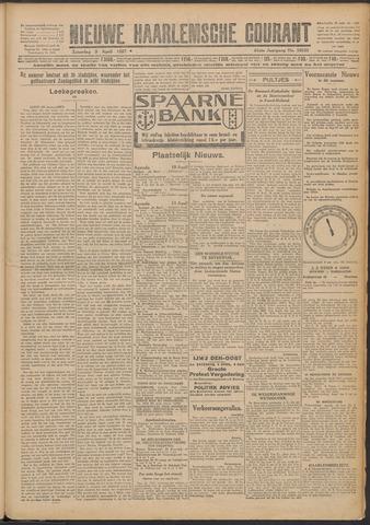 Nieuwe Haarlemsche Courant 1927-04-09